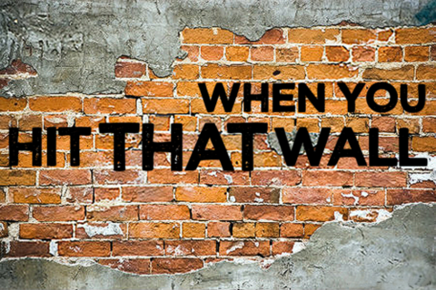 When We Feel Up Against A Wall With No Way Out