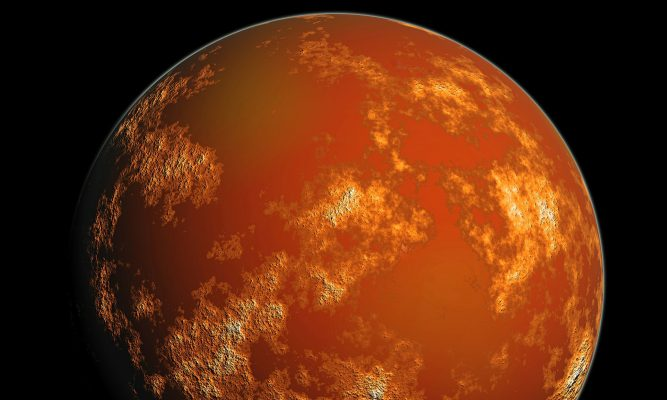 Mars The Planet of War